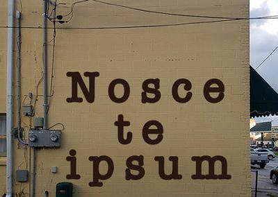 NOSCE TE IPSUM - 325 W 1st St.