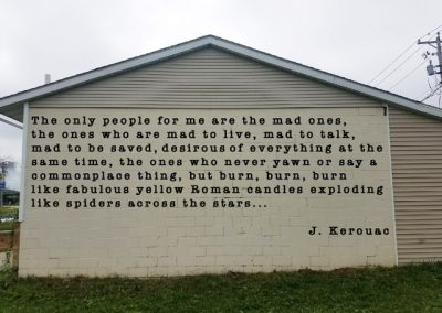 KEROUAC QUOTATION - 1277 Elm St.